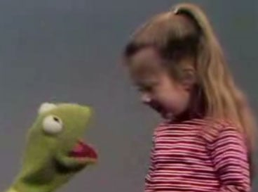 Flashback: Kermit and Cute Kid Sing Alphabet