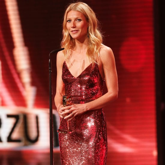 Gwyneth Paltrow in Red Sequin Dress