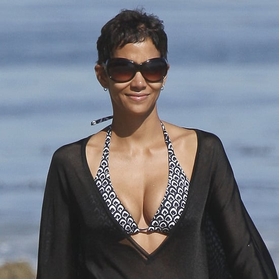 Halle Berry Bikini Pictures With Nahla in Malibu