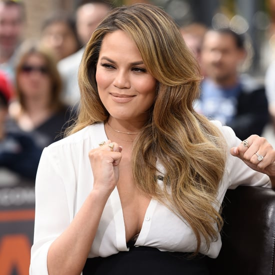 Chrissy Teigen's New Summertime Bag Belongs Right on Your Arm