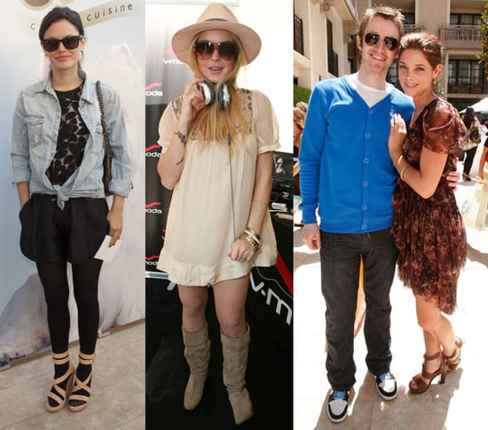 Pictures of Rachel Bilson, Lindsay Lohan, and More at the 2010 MTV Movie Awards Gifting Suites 2010-06-04 11:00:33