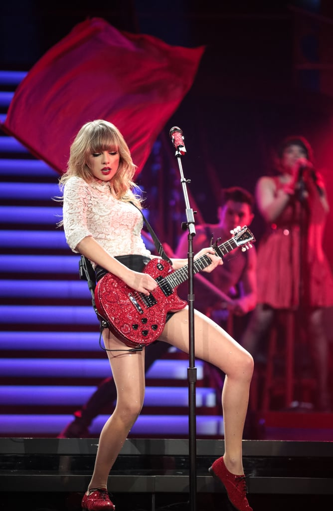 She Can Actually Play the Guitar