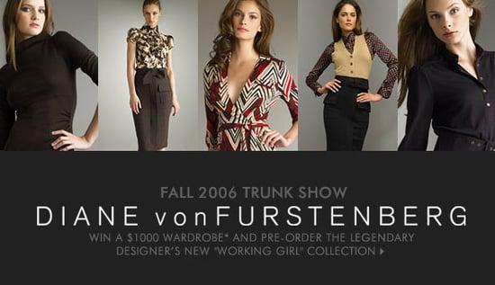 Diane Von Furstenberg Trunk Show