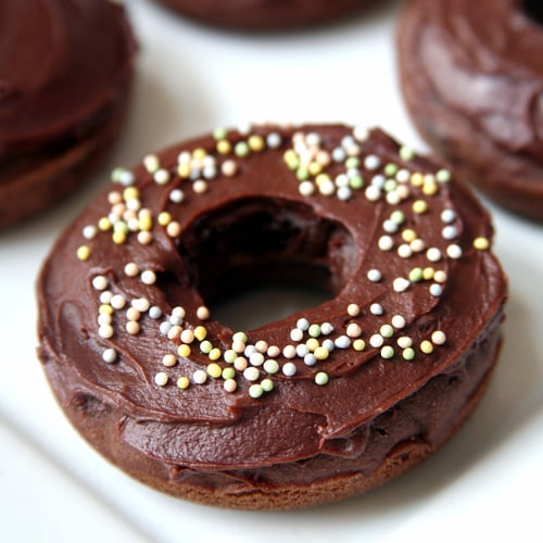 Vegan Chocolate Frosted Doughnuts
