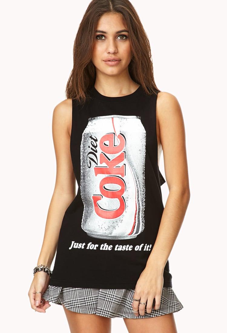Forever 21 Diet Coke Muscle Tee