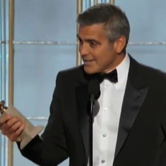 George Clooney Golden Globe 2012 Acceptance Speech (Video)