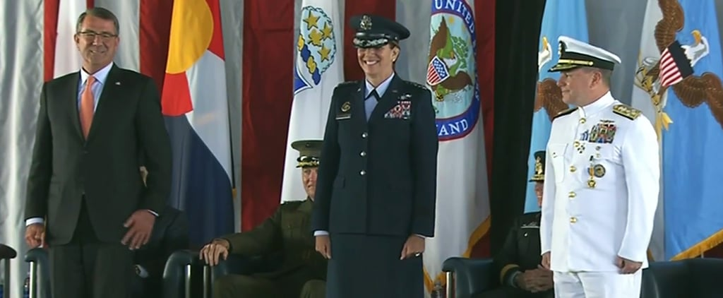 Meet the First Female Air Force General to Lead a Combat Team