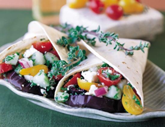 Grilled Greek Wrap