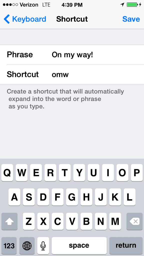 Set up keyboard shortcuts.