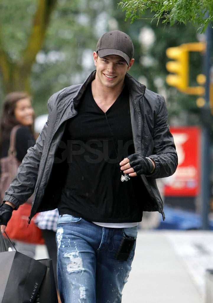 Photos of Kellan Lutz and Peter Facinelli in Vancouver