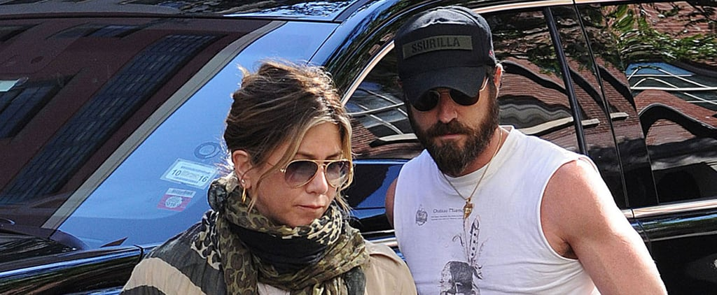 Jennifer Aniston and Justin Theroux Go Casual For a Day Out in NYC