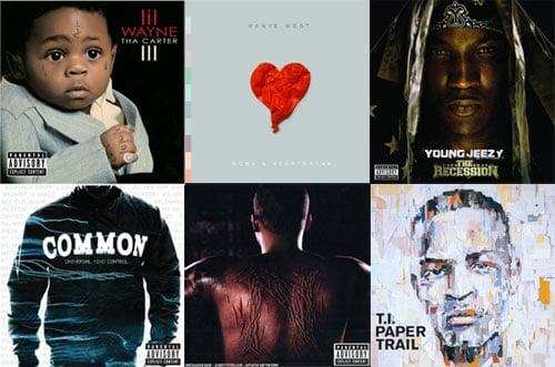 Best Hip Hop Album of 2008