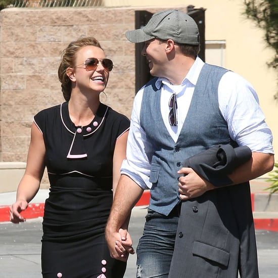Britney Spears and New Boyfriend Hold Hands at Mall in LA