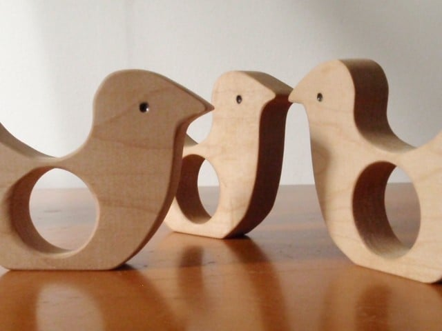 Little Chick Wooden Teether