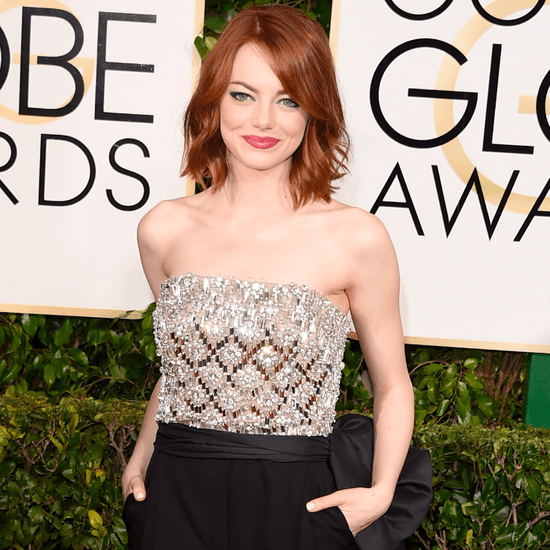 Emma Stone Golden Globes Jumpsuit 2015