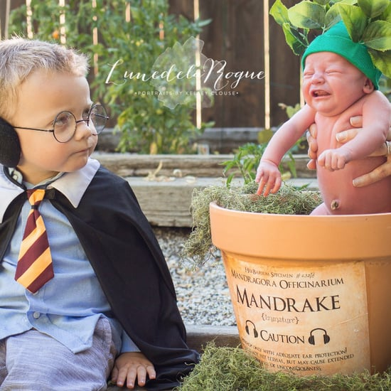 Harry Potter Newborn Photo Shoot Idea