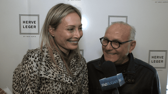 Interview With Herve Leger Designers at New York Fashion Week Fall 2011