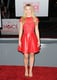 Kristen Bell was pretty in a gathered neckline.