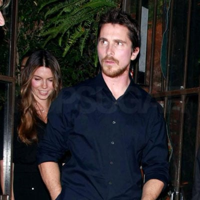 Photo of Christian Bale and Sibi Blazic Out in LA At Il Cielo