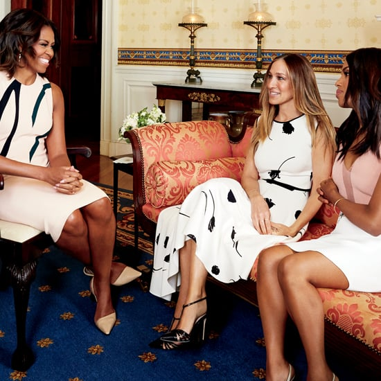 Michelle Obama, Kerry Washington, and SJP in Glamour