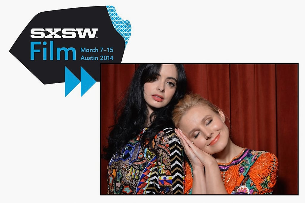 Kristen Bell and Krysten Ritter posed in a photo booth on Saturday.