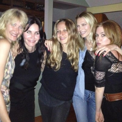 Courteney Cox 49th Birthday Celebrations Twitter Pictures