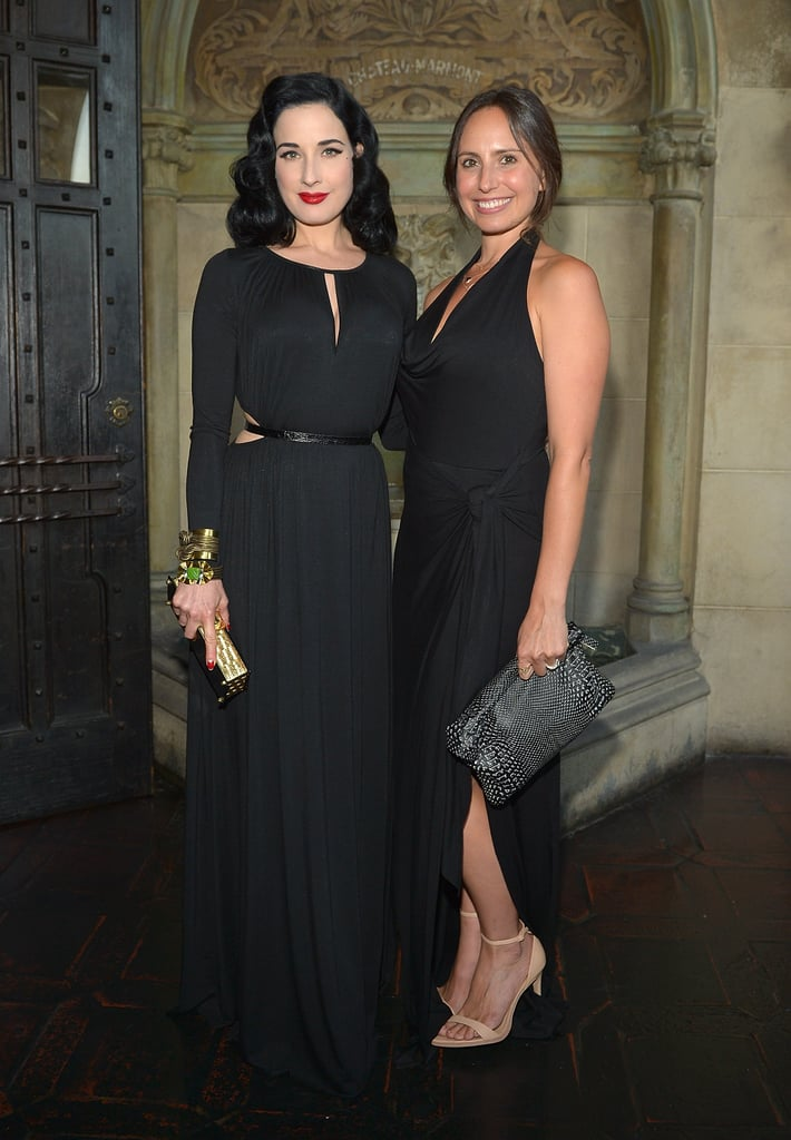 Rachel Pally celebrated her Fall collection at Chateau Marmont with Dita Von Teese.