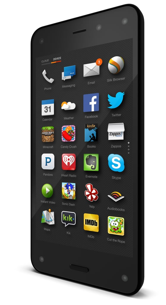 Fire's App Grid Interface