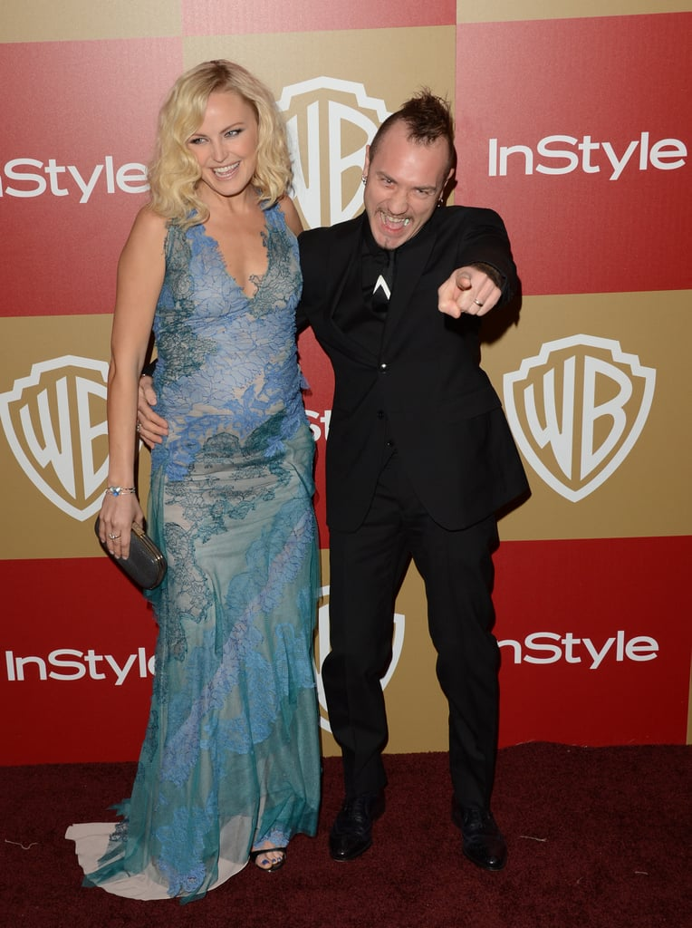 Malin Akerman and Roberto Zincone were silly on the red carpet.