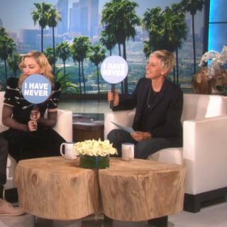 Madonna and Justin Bieber on The Ellen DeGeneres Show