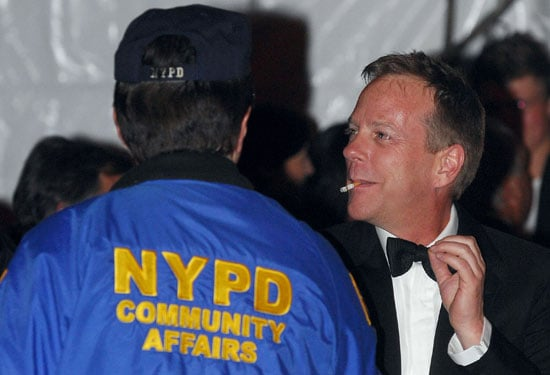 Photo of Kiefer Sutherland, Who Headbutted Proenza Designer Maybe Protecting Brooke Shields