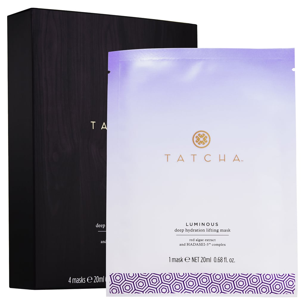 """Best for: When you're severely hungover and desperately dehydrated. You may have croaked out """"water!"""" after a long night at the bars, but did you ever stop to think what your skin was craving the next morning? Tatcha's Luminous Deep Hydration Lifting Mask ($95 for four masks) is made of coconut biocellulose, which was originally developed to speed healing for burn victims. The fabric locks hydrating ingredients like hyaluronic acid and red algae deep into the dermis, plumping fine lines and nourishing your complexion."""