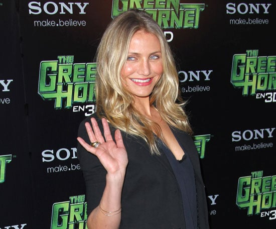 Pictures of Cameron Diaz at the Paris Photo Call For The Green Hornet