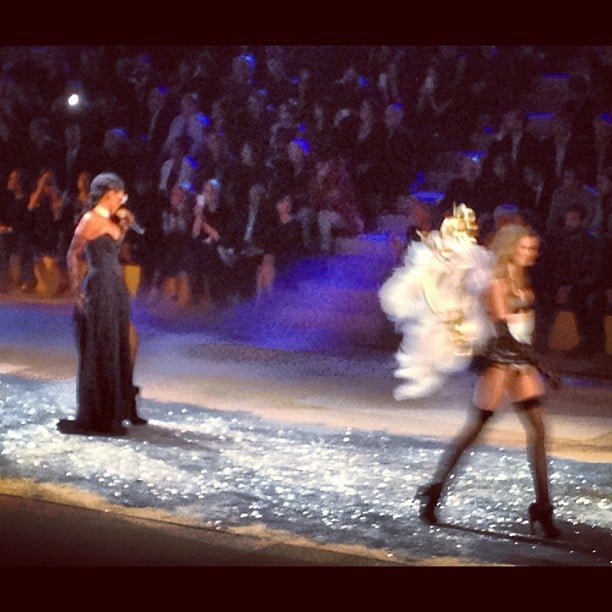 Rihanna and Alessandra Ambrosio opened the show.
