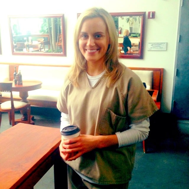 Taylor Schilling will return as Piper Chapman in season two of the show. Source: Instagram user oitnb