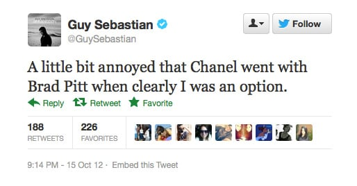 We don't understand either, Guy Sebastian. #robbed