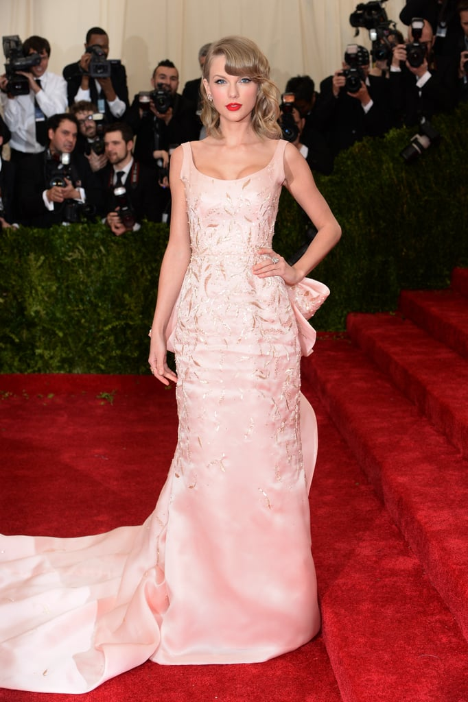 Taylor Swift at the 2014 Met Gala