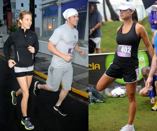 Kellan Lutz, AnnaLynne McCord, Nick Lachey, and Others Participate in the Roselyn Sanchez Triathlon For Life in Puerto Rico