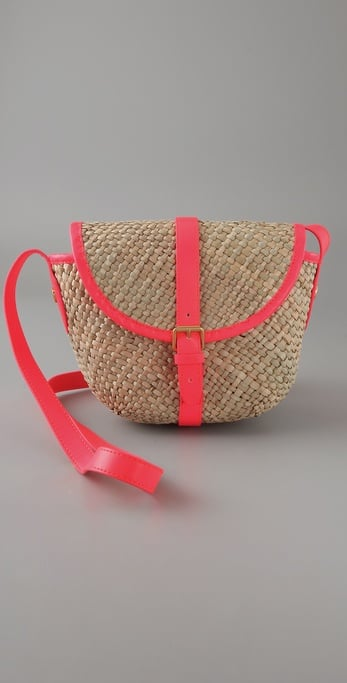 Marc by Marc JacobsPreppy Straw Canteen Messenger Bag ($148)