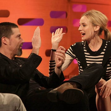 Pictures of Diane Kruger on the Graham Norton Show With Matthew Fox