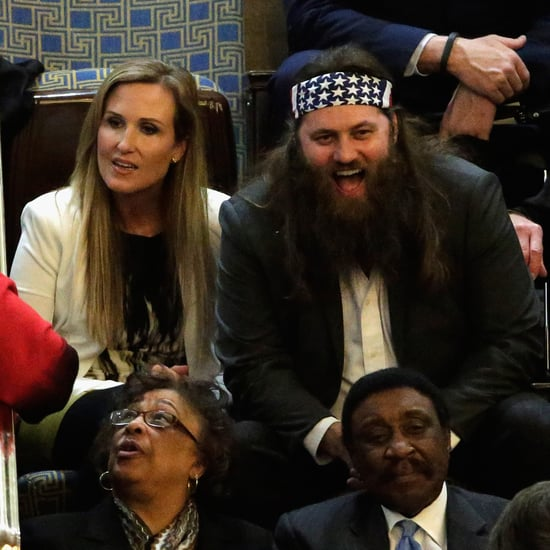 Duck Dynasty Star at State of the Union