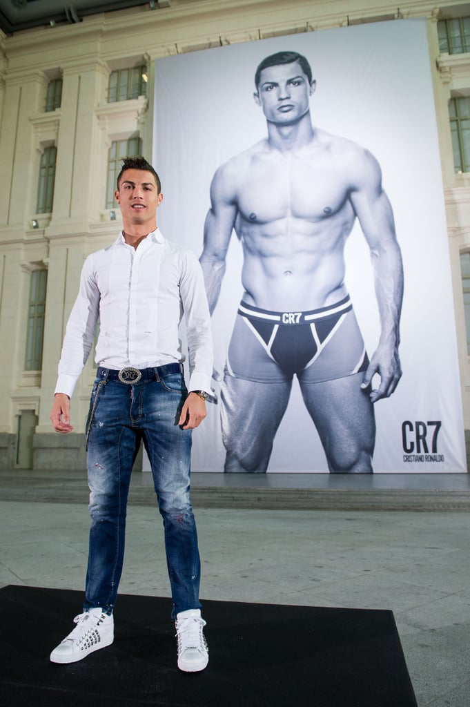 When Cristiano Ronaldo Posed For This Larger-Than-Life Ad