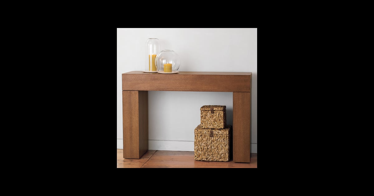 Steal of the Day West Elm Chunky Console Table POPSUGAR  : Steal Day West Elm Chunky Console Table from popsugar.com size 1200 x 630 jpeg 34kB