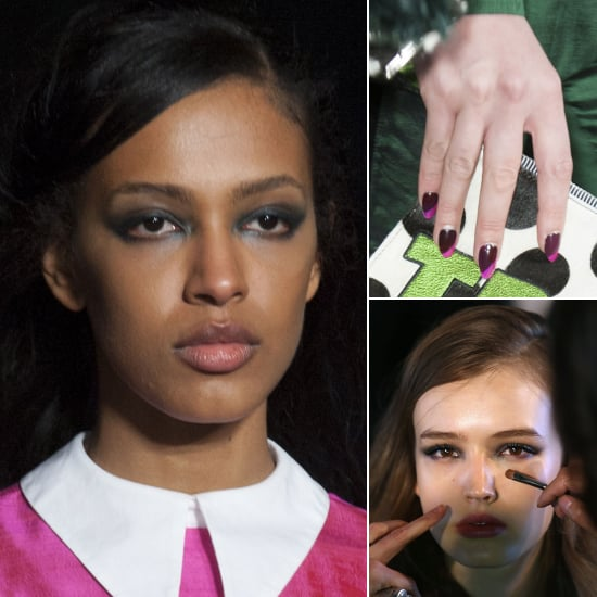 Backstage Beauty at House of Holland Autumn/Winter 2014