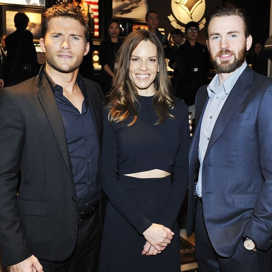 Chris Evans and Scott Eastwood Attend Charity Gala