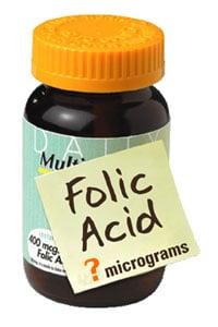 Folic Acid Quiz