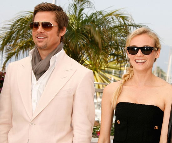 Photo Slide of Brad Pitt and Diane Kruger at Inglourious Basterds Photo Call at Cannes Film Festival
