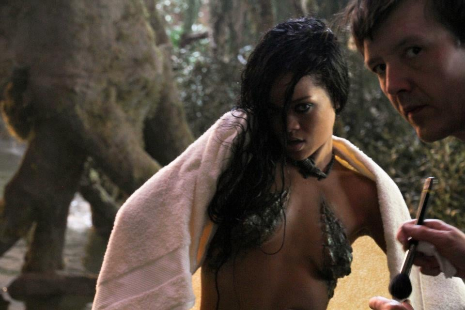 """Go Behind the Scenes on Rihanna's """"Where Have You Been"""" Video"""