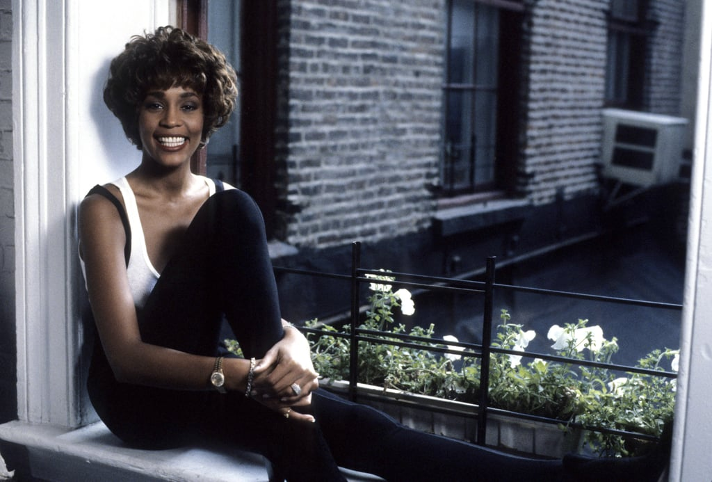 She posed during a VH1 interview in 1990.