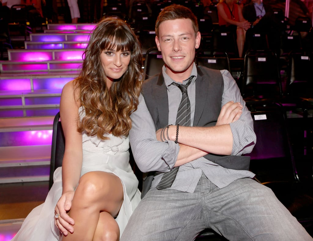 Cory Monteith and Lea Michele sat together in the audience at the 2012 Do Something Awards in LA.